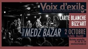 Collectif Medz Bazar • Soirée Anatolie • Carte Blanche Bizz'Art au Festival Voix d'Exils