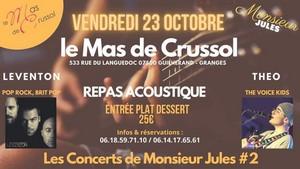 Les Concerts de Monsieur Jules#2 avec Leventon + Théo