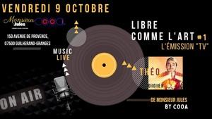 """Libre Comme L'art """"l'émission"""" #1 avec Théo Didier"""